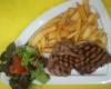 Faux filet grillé sauce roquefort / poivre