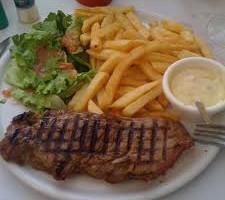 Faux filet «Jean de la Criée»  (260 grs) Sauce du chef